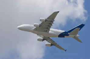 Airbus A380 Climbout